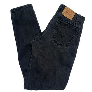 Vintage 90s Levis 560 Black Denim Jeans